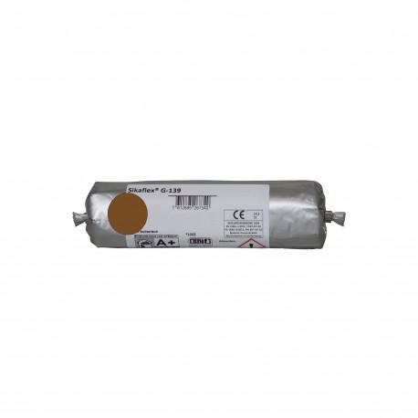 Mastic-colle à prise rapide SIKA Sikaflex G 139 - Marron - 400ml