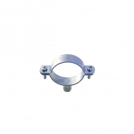 Collier zing nu à double embase - M8-M10 - Diamètre 12-17 mm - 51408D