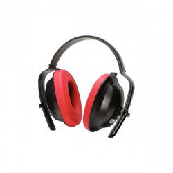 Casque KS TOOLS Anti-bruit - Rouge et noir - 19 dB - 310.0130