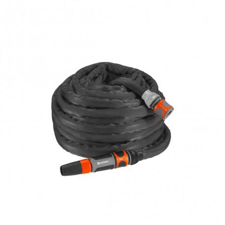 Kit tuyau d'arrosage textile Liano 20 m GARDENA - 18434-20