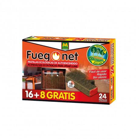 Pastilles d'autoallumage pour barbecue - 24 pcs