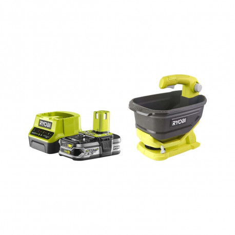 Pack RYOBI Epandeur à main 18V OnePlus OSS1800 - 1 Batterie 2.5Ah - 1 Chargeur rapide RC18120-125