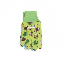 Gants de jardinage - Pour enfant - Taille unique 18cm - Vert