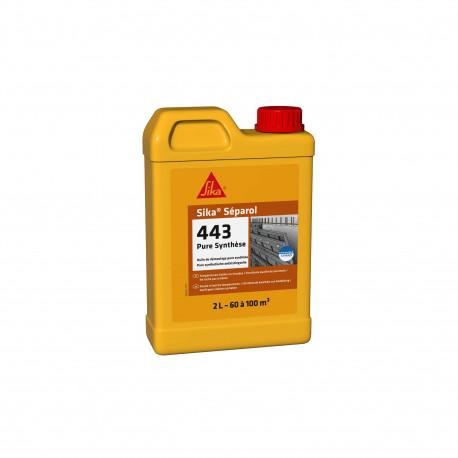 Huile de démoulage SIKA Séparol 443 - Pure synthèse - 2L