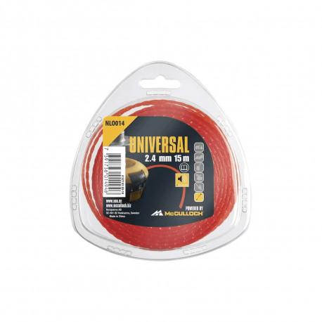 Fil nylon rond MCCULLOCH pour débroussailleuse thermique - NLO005