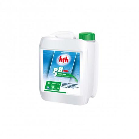 Traitement pH moins pour piscine HTH - 10L