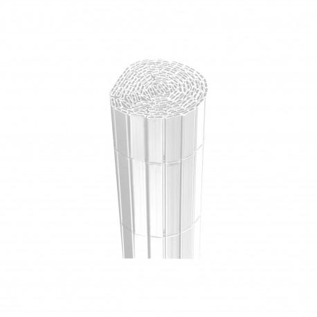 Canisse JET7GARDEN 1,5x2,5m - Blanc - PVC - Double Face