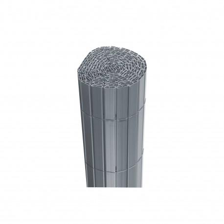 Canisse JET7GARDEN 1,2x2,5m - Gris perle - PVC - Double Face