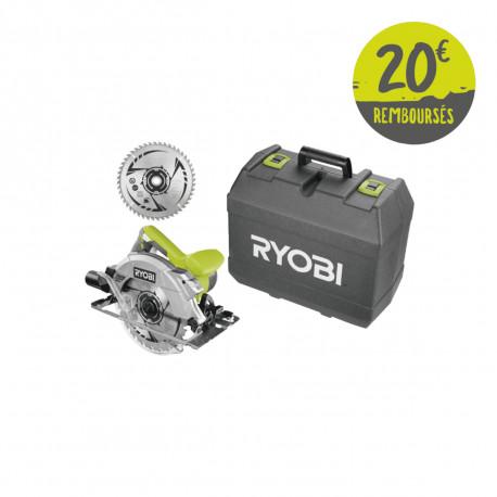 Scie circulaire RYOBI - 1600W - 66mm - RCS1600-K2B