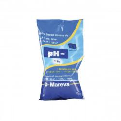 Réducteur de pH MAREVA écodose pH- pour piscine - 1Kg - 020022U