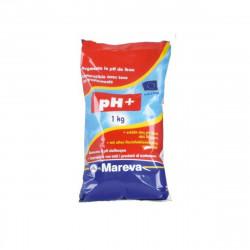 Réhausseur de pH MAREVA poudre écodose ph Plus pour piscine - 1Kg - 020021U
