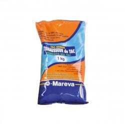 Réhausseur de TAC MAREVA poudre écodose TAC Plus pour piscine - 1Kg - 020023U