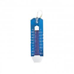 Thermomètre translucide MAREVA de piscine - 25 cm - degrés celsius et fahrenheit - 763271