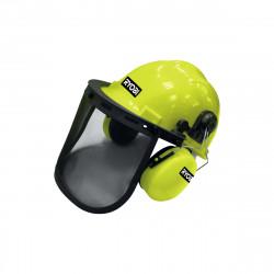 Casque de sécurité RYOBI - visière et protection auditive - ACC008