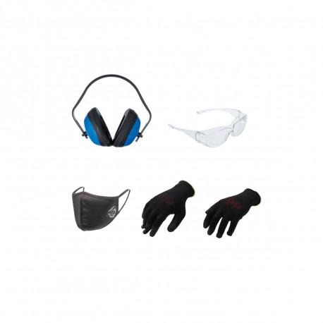 Pack de protection BGS TECHNIC - 4 pcs - Taille M