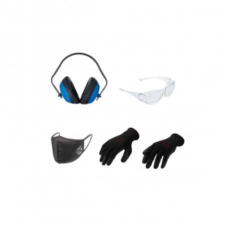 Pack de protection BGS TECHNIC - 4 pcs - Taille L