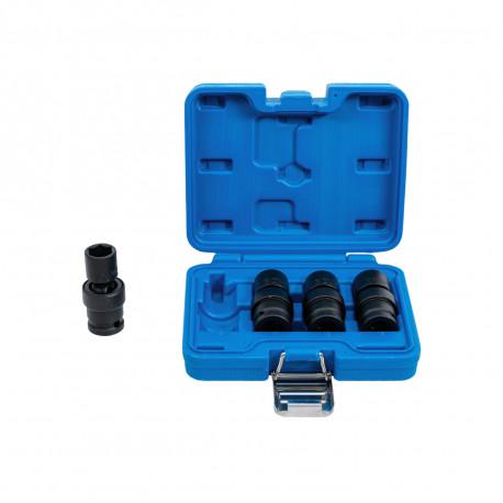 Coffret de douilles à rotules à choc BGS TECHNIC - 12,5 mm - 4 pcs - 5200