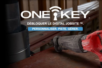 One Key, l'outillage connecté par Milwaukee